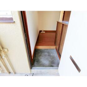 第1鶴巻荘 102号室の玄関