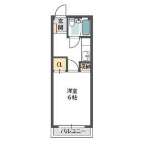 SRマンションI・00207号室の間取り