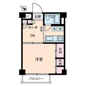 成城ロイヤルマンション・0303号室の間取り