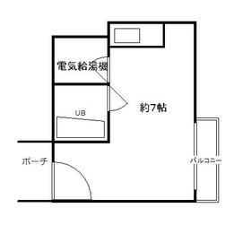 オリエント新大阪アーバンライフ・1206号室の間取り