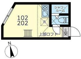 ミラベル横浜 102号室の間取り