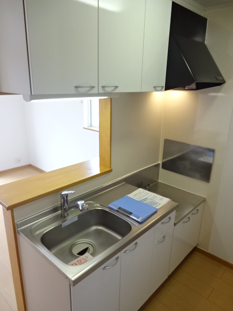 マーベラスヒルズⅡ 02040号室のキッチン