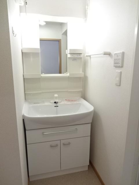 マーベラスヒルズⅡ 02040号室の洗面所