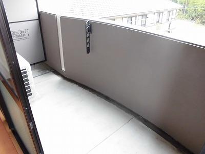 ピュアライフ 302号室のバルコニー