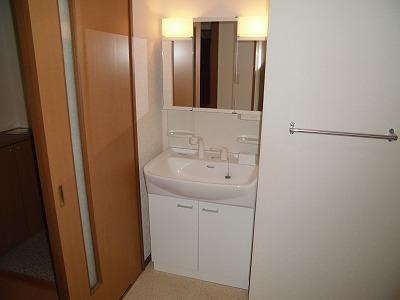 ピュアライフ 302号室の洗面所