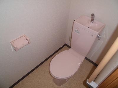 ピュアライフ 302号室のトイレ