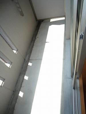 ディアⅣ 101号室のバルコニー