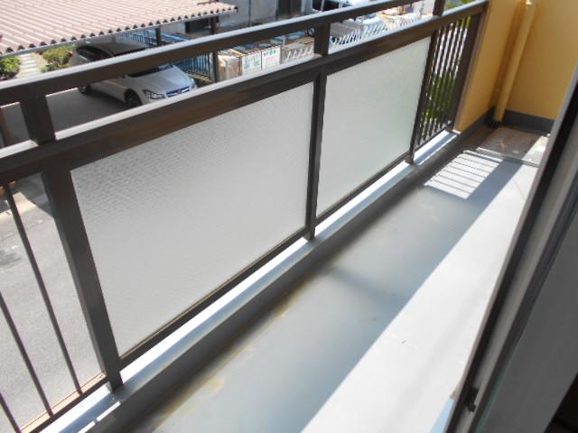 杉本マンション 2-A号室のバルコニー