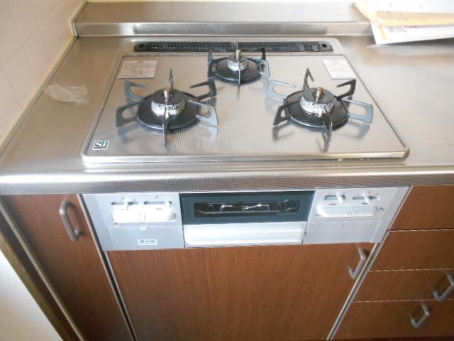 杉本マンション 2-A号室のキッチン