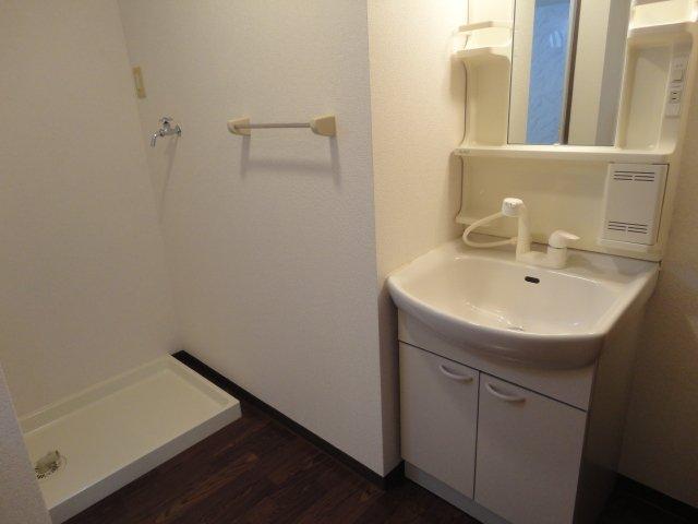 コンフォースB 201号室の洗面所
