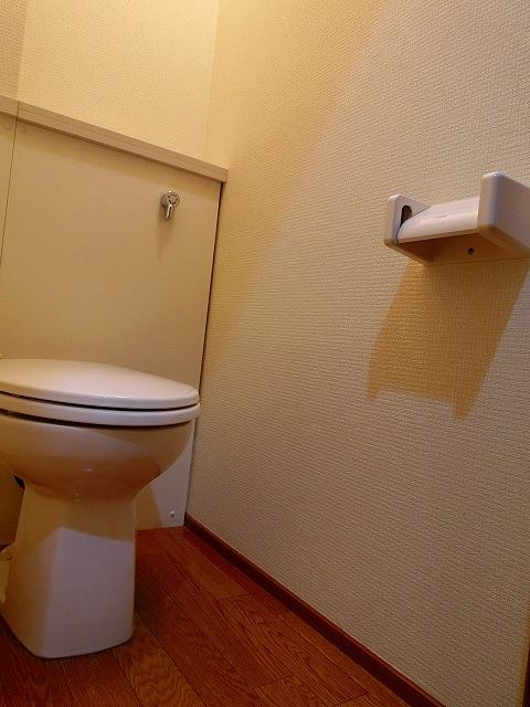 ウインズ A棟 101号室のトイレ