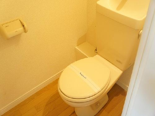 レオパレス258 205号室のトイレ
