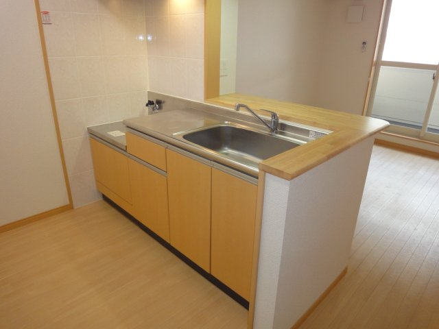 ウエストシティー 201号室のキッチン