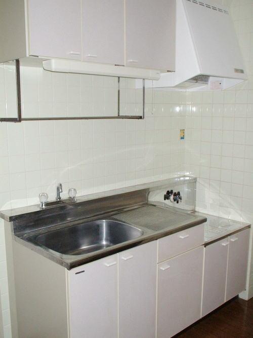 ドリーミー山中C 02030号室のキッチン