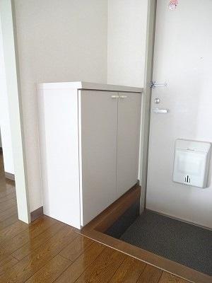 ドリーミー山中C 02030号室の玄関