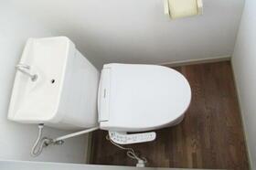 エステートピアサイド 206号室のトイレ