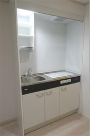 ハーミットクラブハウス白楽IIIB棟(仮) 101号室のキッチン