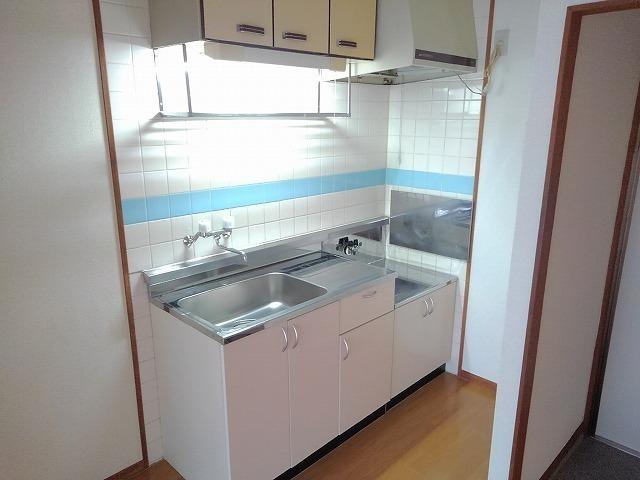 前田ビューハイツⅡ 01040号室のキッチン