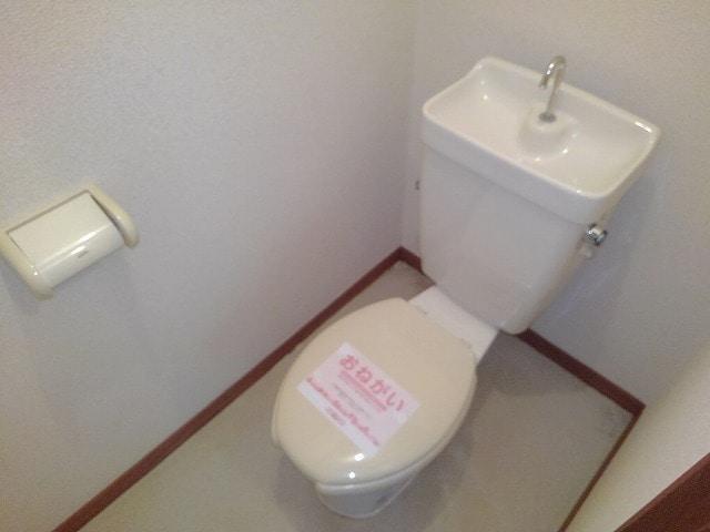 前田ビューハイツⅡ 01040号室のトイレ