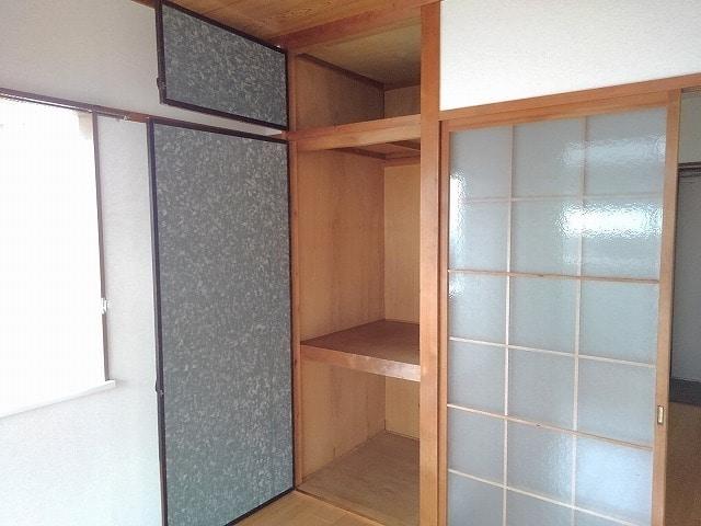 前田ビューハイツⅡ 01040号室の収納