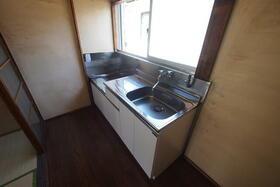佐生荘 201号室のキッチン