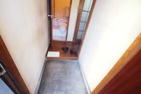 佐生荘 201号室の玄関