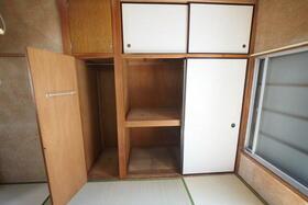 佐生荘 201号室の収納