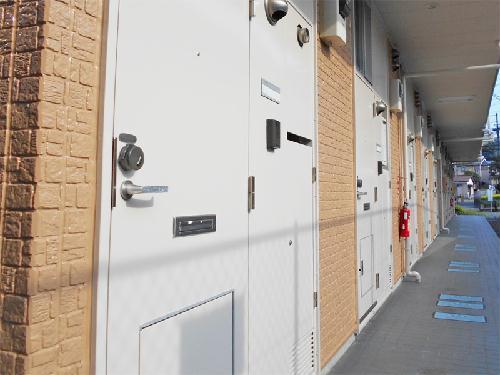 レオパレスエーゼⅡ 306号室の玄関