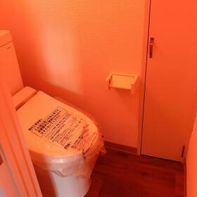 清水駅前ビル 5号室のトイレ