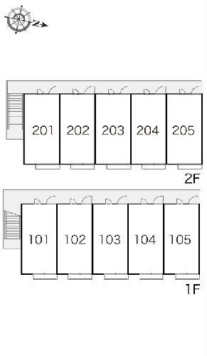 レオパレス楼蘭 102号室のその他