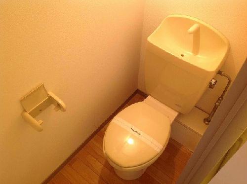 レオパレス楼蘭 102号室のトイレ