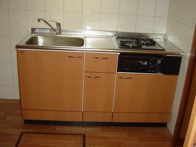 ルーラル ハウス 203号室のキッチン