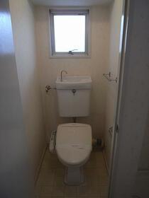 市ヶ尾内野ビル 401号室のトイレ