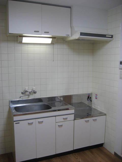 プラスモベール B号室のキッチン