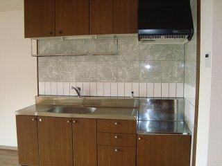 ピュア ロイアルⅡ 105号室のキッチン