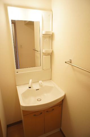 クレアハイム・g 00205号室の洗面所