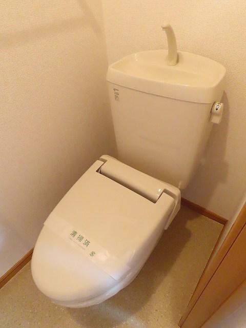プラムⅡ 02020号室のトイレ