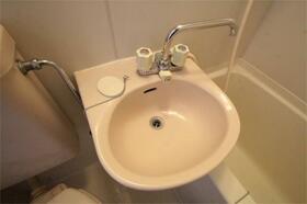 ベルグラン椎名 201号室の洗面所