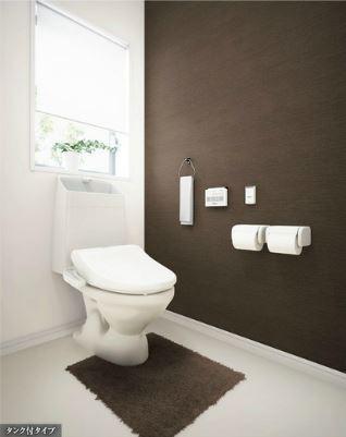 フローラ小石川 307号室のトイレ