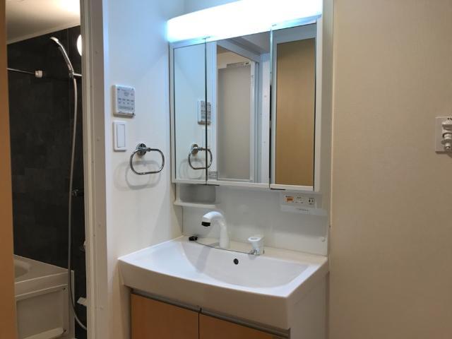 フローラ小石川 403号室の洗面所