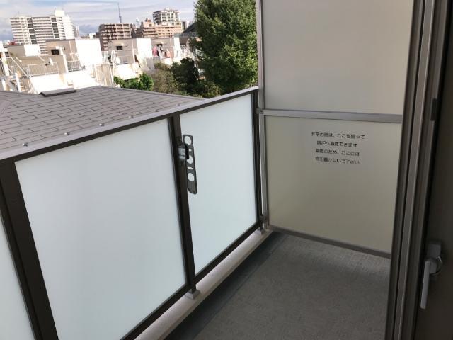 フローラ小石川 406号室のバルコニー