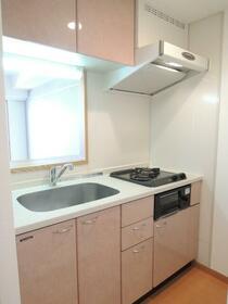 スカイコート幡ヶ谷 701号室のキッチン