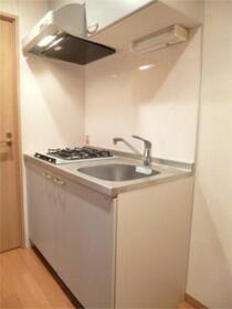スカイコート渋谷初台 406号室のキッチン