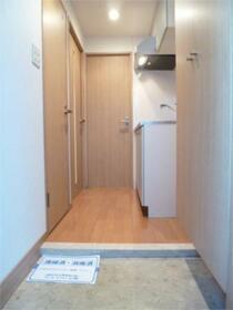 スカイコート渋谷初台 406号室の玄関