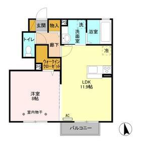 コーポ田村No.1・103号室の間取り