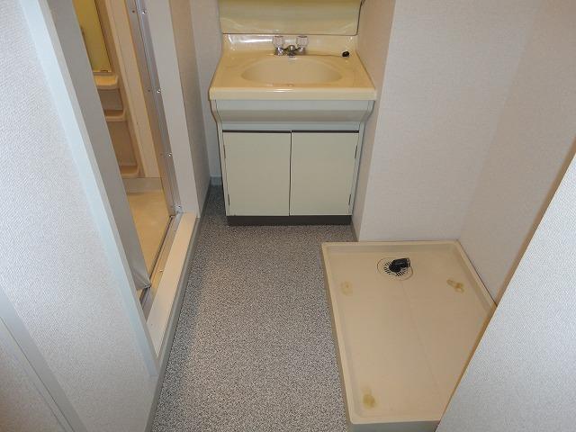 マンション角屋 203号室の洗面所