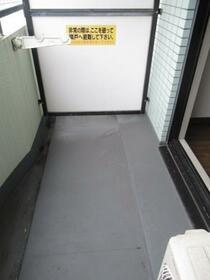 メゾン・ド・トゥール 0709号室のバルコニー