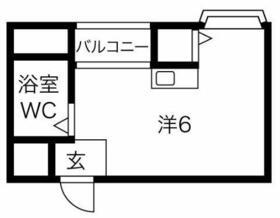 プレアール井高野・303号室の間取り