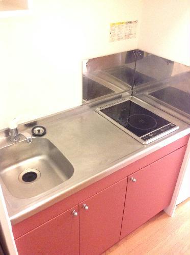 レオパレスディン 102号室のキッチン