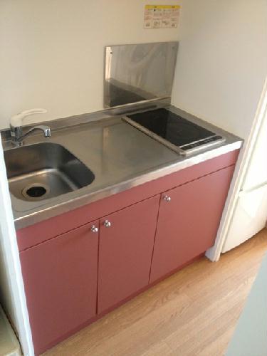レオパレスすゞの木 102号室のキッチン